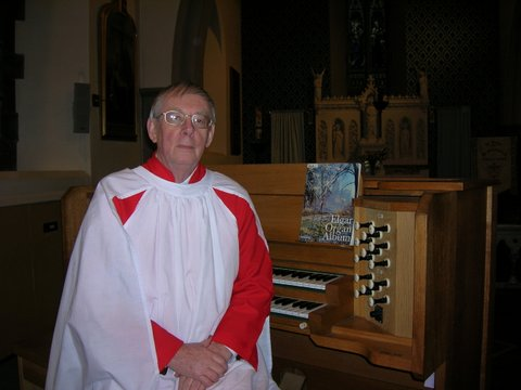 Brian at the Organ